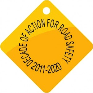 The Road Safety Tag is the global symbol of the movement to improve safety on the roads.